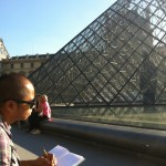 Drawing at Louvre