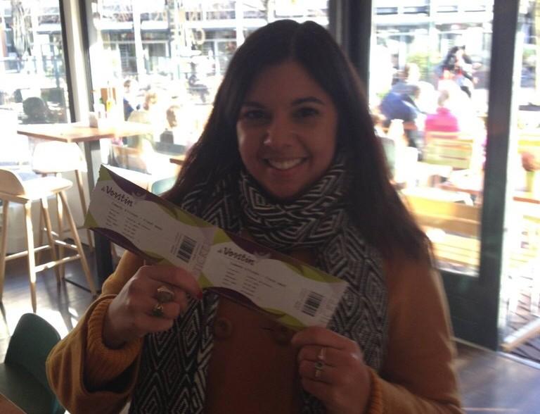 Tickets gewonnen bij Flinders