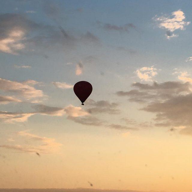 Heerlijk avondje voor een luchtballon tripje! Een? Hihi wat hangenhellip