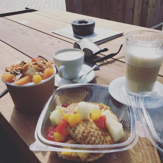 Breakfast foodhallmout035  Pancakes and turkish yoghurt! Continue Reading rarr
