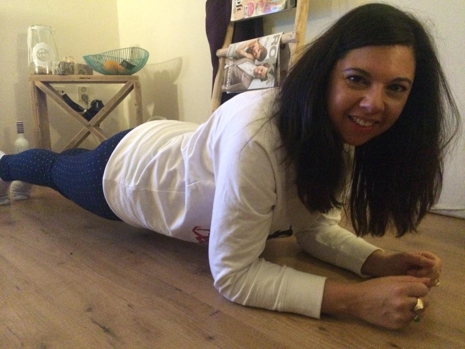 30 day plank challenge Dag 1